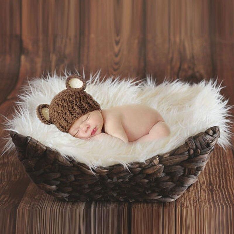 Koce dla dzieci noworodka fotografia rekwizyty koce noworodka strój rekwizyty fotograficzne dla dzieci dzieci okłady owinięte rekwizyty koc kosz nadziewarka