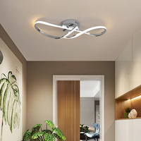 MDWELL Gold/Chrome Plated Modern led Chandelier for foyer bedroom corridor kitchen AC110 220V Modern chandelier light fixtures