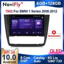 6G + 128G Android 10 QLED auto Radio multimedia reproductor de vídeo para BMW serie 1 E88 E82 E81 E87 2004-2012 coche navegación gps de audio