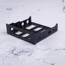 Professional 3.5'' to 5.25'' Drive Bay Computer Case Adapter Mounting Bracket USB Hub