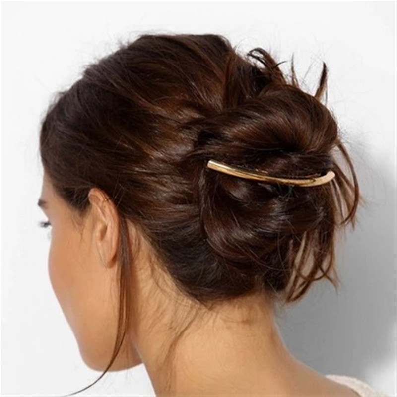 Vintage Hair Clips tool Gold Silver Branch Hairpins Fashion Hairgrips Lady Elegance Metal Hair Accessories For Women headdress