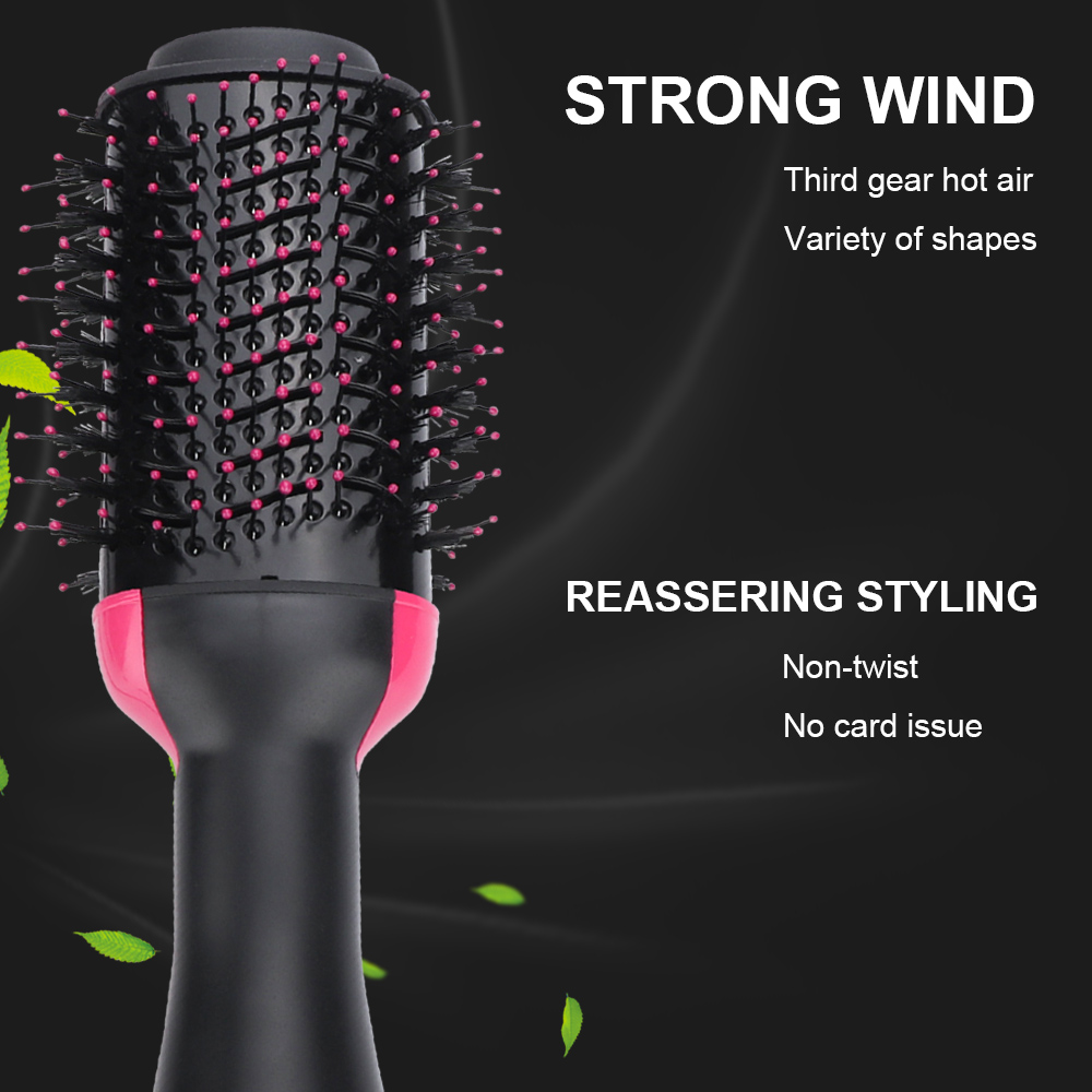 One Step Hair Dryers and Volumizer Blower Professional 2-in-1 Hair Dryers Hot Brush Blow Drier Hair Dryer and Hair Straightener