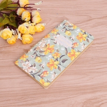 Flower Notebook Blank Inner Planner Sketchbook Diary Note Book School Supplies note for mushroom a5 notebook blank pages note book sketchbook diy personal diary book stationery gifts