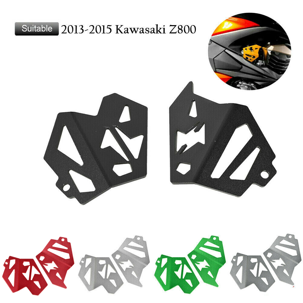 Aluminum Fuel Injection Cover Guard Frame Protector For <font><b>Kawasaki</b></font> Z800 2013 2014 2015 <font><b>Z</b></font> <font><b>800</b></font> Motorcycle Accessories Black Titanium image