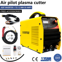 Pilot Arc Plasma Cutter CUT50P 50A dual voltage 110V / 220V non-Touch digital Air Inverter portable welding equipment