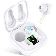 J6 TWS Bluetooth 5.2 Earphones Charging Box Wireless Headphone 9D Stereo Sports Waterproof Earbuds Headsets With Microphone