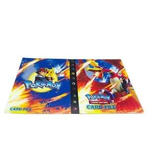Image 3 - 240Pcsของเล่นสำหรับของขวัญPokemonesหนังสือAlbum Bookโหลดรายการการ์ดเล่น