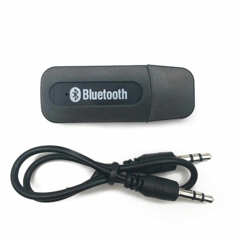 USB بلوتوث Aux اللاسلكية سيارة صغيرة محمولة بلوتوث الموسيقى استقبال الصوت محول 3.5 مللي متر ستيريو الصوت ل فون الروبوت الهواتف