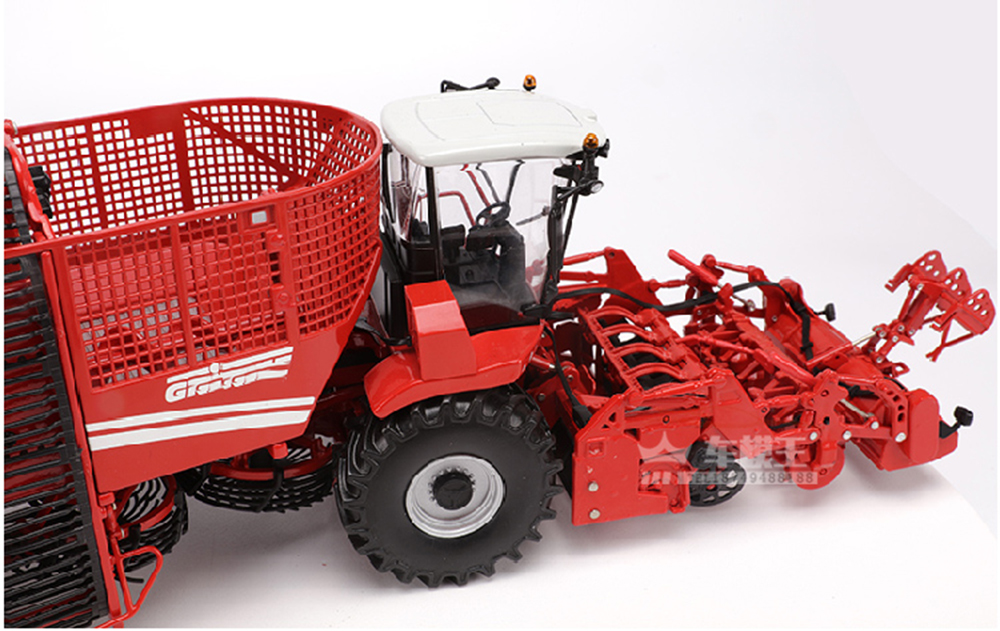 1:32 модель игрушки 1/32 сплав комбайн жнец HOLMER TERRA DOS T4 красный литье под давлением фермерский автомобиль игрушка Литье под давлением Машинки И... - 6