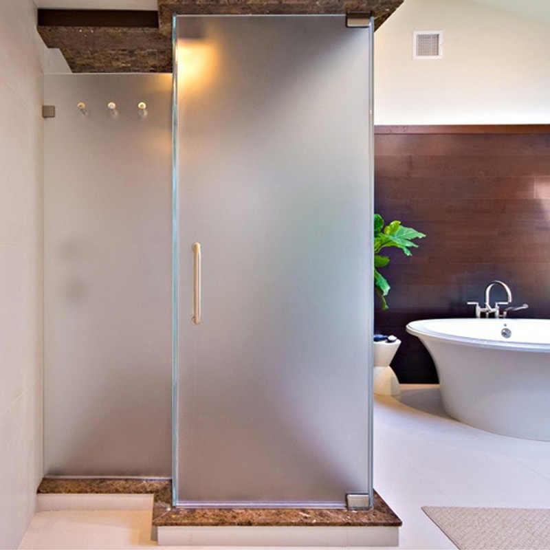 PVC amplia opaca Privacidad de vidrio estático ventana decoración para el hogar ventana cubierta pegatinas Oficina película para vidrio Baño
