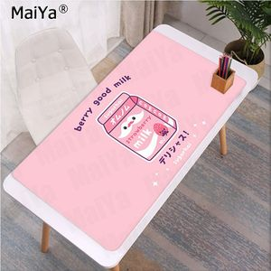 Image 5 - Maiya Fashion Kawaii Japanese Strawberry Milk Rubber Mouse Durable Desktop Mousepad Rubber PC Computer Gaming mousepad