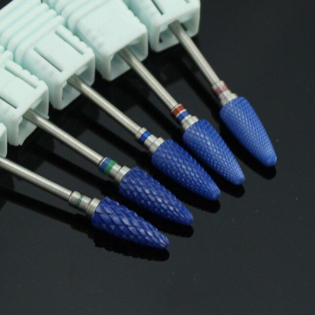 ERUIKA 1pc Mill Ceramic Nail Drill Bit Electric Manicure Machines Pedicure Nail Art Salon Tool Machine for Manicure Accessories 2