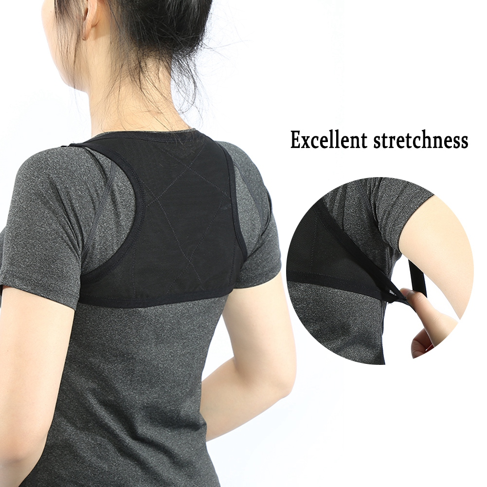 Breathable Posture Corrector Back Belt Support Spine Orthopedic Bandage Health Beauty Shoulder Braces Posture Upper Back Support