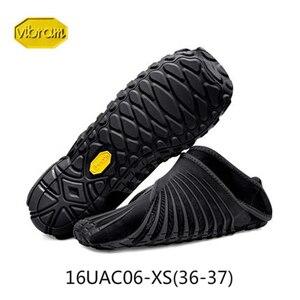 Image 1 - Vibram FUROSHIKI Walkingกีฬายืดผ้ารองเท้าผู้หญิงSuper Lightห้านิ้วมือวิ่งพับแบบพกพารองเท้าผ้าใบ