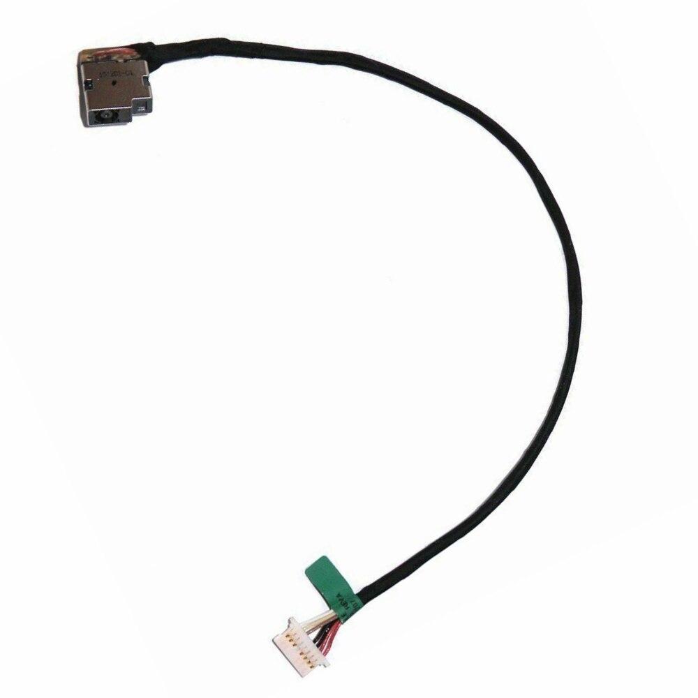 """HP Stream 11.6/"""" 11-r014wm Original DC IN Power Jack w//Cable 743212-YD1"""