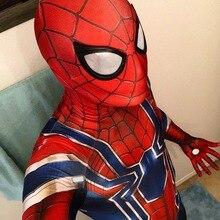 Male/Female/Kids Movie Iron Man SpyBoy Costume Cosplay 3D Printed Lycra Spandex Homecoming Halloween Costume Jumpsuits Bodysuit