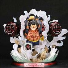 Японское аниме цельная фигурка цельная статуя Луффи ПВХ фигурка игрушки GK Луффи фигурка украшение модель игрушки подарок для детей