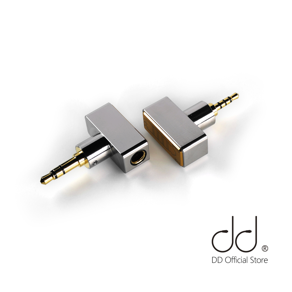 DdHiFi DJ44B DJ44C, Female 4.4 Balanced Adapter. Apply To 4.4mm Earphone Cable, From Brands Such As Astell&Kern, FiiO, Etc.