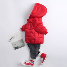 купить Girls Jackets Kids Boys Coat Children Winter Outerwear & Coats Casual Baby Girls Clothes Autumn Winter Parkas дешево