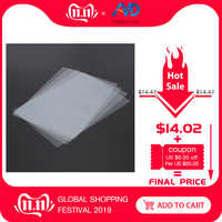 4 feuilles FEP Film 140x200mm x 0.1mm DLP LCD SLA résine imprimante 3D pour Elegoo Mars Wanhao duplicateur D7, Photon