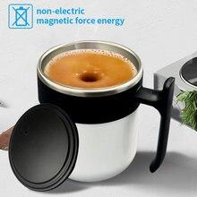 Caneca de café de aço inoxidável garrafa de água quente isolado caneca magnética