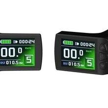 KT LCD9 Display 24V 36V 48V intelligent Color Control Panel Electric Bike KT kunteng LCD led Display with Throttle