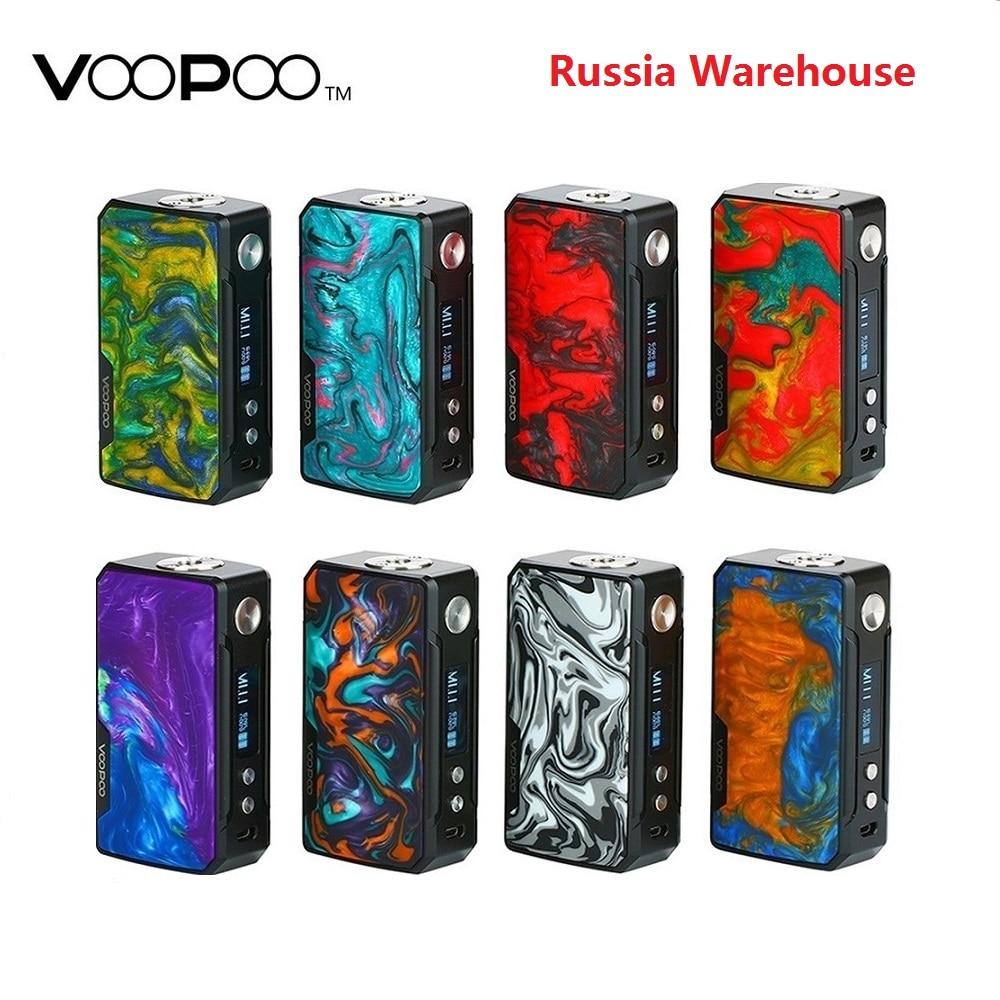 177W VOOPOO glisser 2 boîte Mod puissance par 18650 batterie Cigarette électronique Vape Mod Voopoo Vs Gen Mod/Shogun Univ/glisser 157W