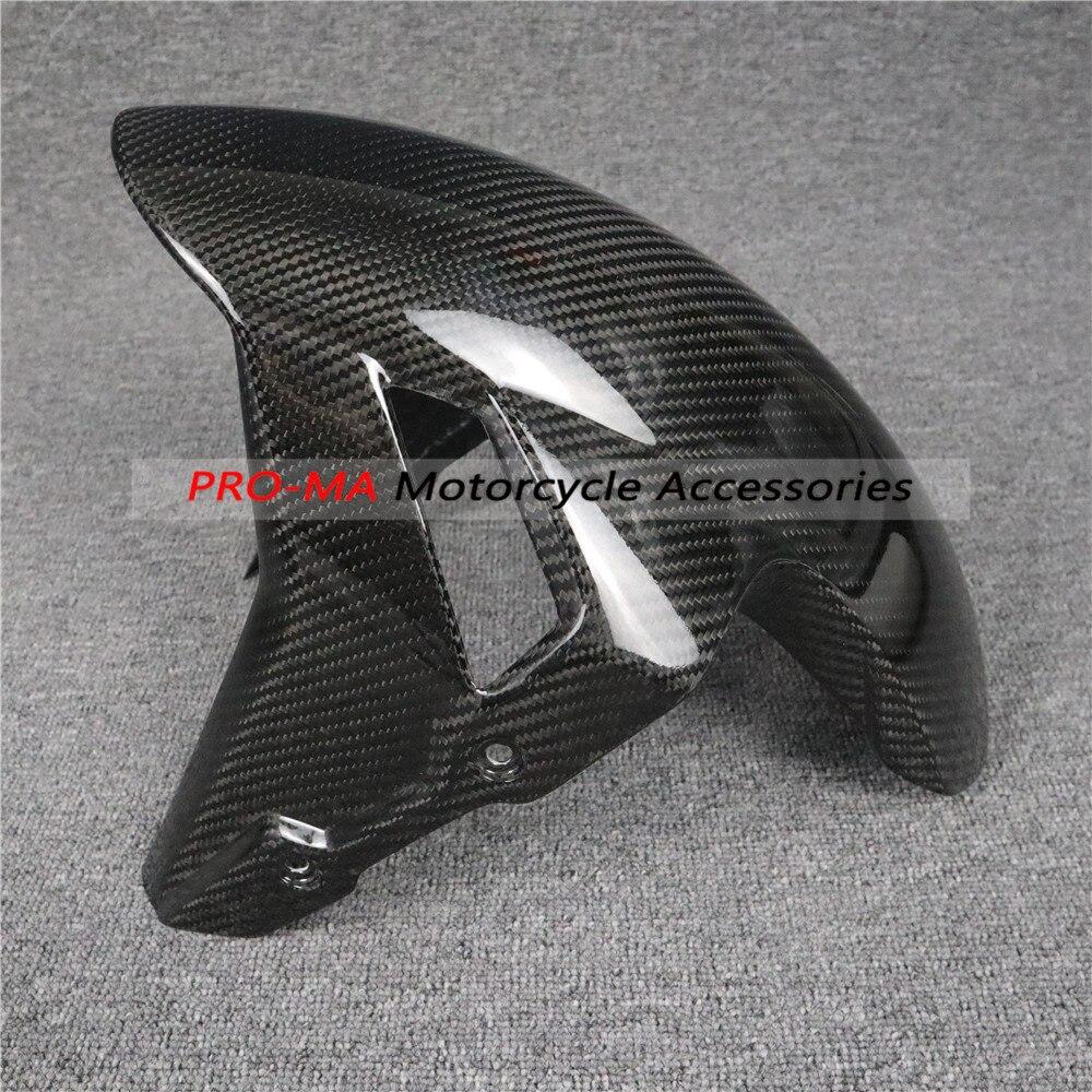 Motorrad kotflügel vorne verkleidung kits in carbon Für BMW S Serie S1000RR 2018-2019 Twill glänzend weben