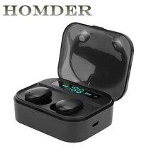 X7 TWS Bluetooth 5.0 Earphones True Wireless Stereo Earbuds Fingerprint Touch 8D Stereo Headset Waterproof in-Ear Running Gym недорого