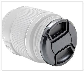 Przednia soczewka pokrywa 40 5 52 55 58 62 67 72 77 82 86 mm centrum pinch zatrzaskowy zatrzask czapka etui do aparatów canon obiektywów firmy nikon tanie i dobre opinie YongNuo