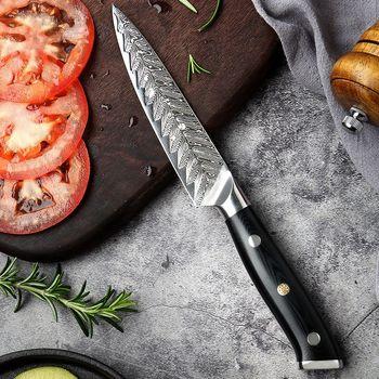 Professional Damascus Chef Knife Gift Set 5