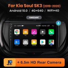 AWESAFE PX9 per Kia Soul SK3 2019 - 2020 autoradio Multimedia lettore video GPS No 2 din Android 10.0 2GB 32GB