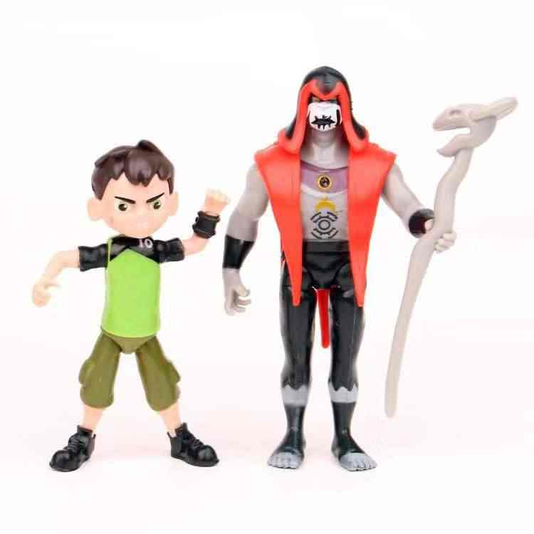 11 Pcs/lot 2019 New Ben 10 Ben Tennyson Materi Abu-abu Model Kartun Pahlawan PVC Boneka Kawaii Mainan Ulang Tahun mainan Hadiah