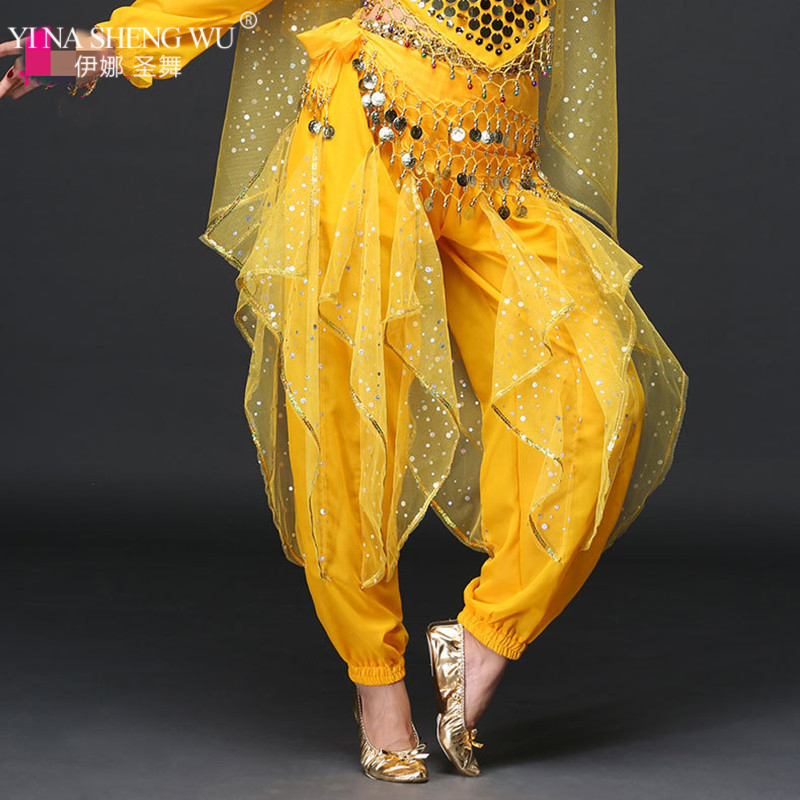 New Women Belly Dance Trousers Sexy Woman Belly Dancing Pants Bellydance Costumes Pants Belly Dance Indian Pants 5 Colors Women