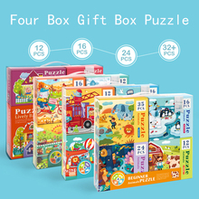 kids Educational toys Diy Puzzle Toy  toys for children For children Gifts jigsaw puzzle Birthday Gift стоимость