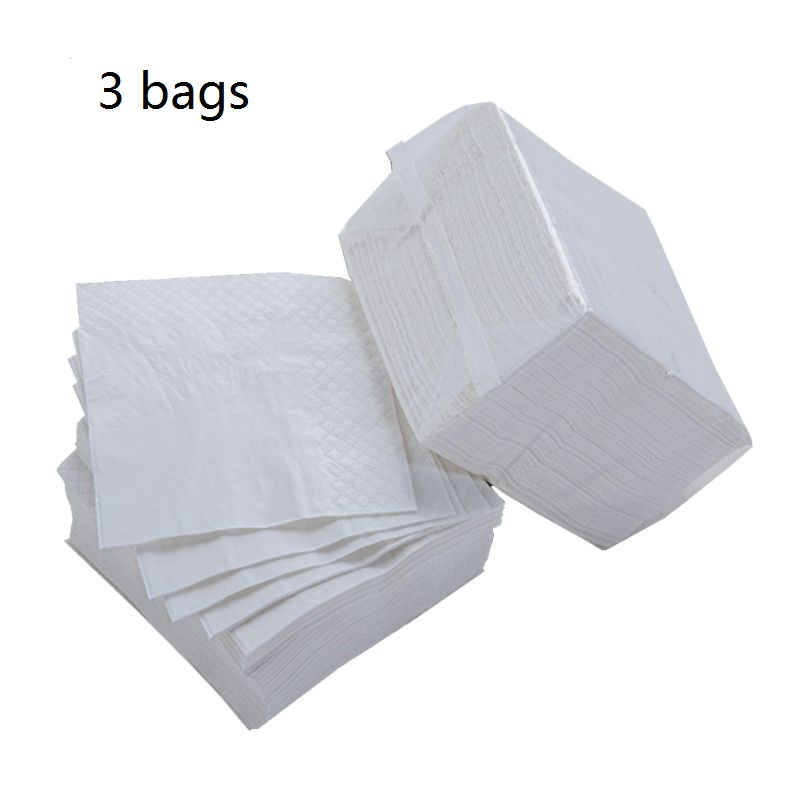 270 Sheets /3 Packs Additives-Free Wood Pulp Toilet Paper Napkin Toilet Tissues Easy To Wipe Environmental Protection Safety