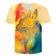 Camiseta estampada en 3D casual de verano para hombre nuevo 2021