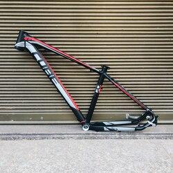 Dağ bisikleti bisiklet iskeleti alüminyum alaşımlı dağ bisikleti çerçeve 29 inç + kulaklık + kelepçe 29
