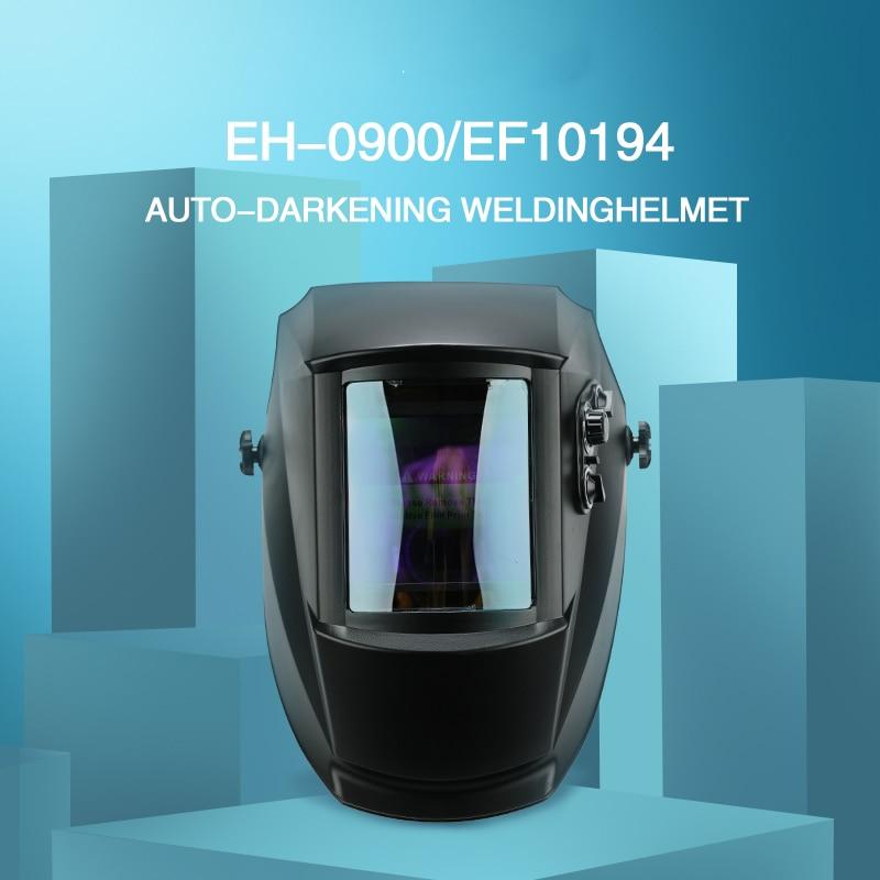 True Color Welding Mask Solar Power Welding Helmet Auto Darkening Welding Hood 1 1 1 1 Filter for TIG MIG ARC
