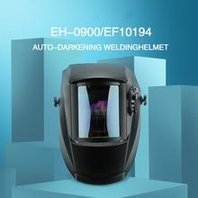 True Color Welding Mask Solar Power Welding Helmet Auto Darkening Welding Hood 1/1/1/1 Filter for TIG MIG ARC