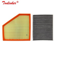 Air Filter+Cabin Filter 2Pcs For Bmw F20,F21 120i 125i M140i 2015-2019/For Bmw F22 F87, F23 220i 230i M240i Model Car Filter Set car air filter cabin filter oil filter for chery a3 1 6l 1 8l 2008 2015 a11 1109111abf m11 8107915 481h 1012010