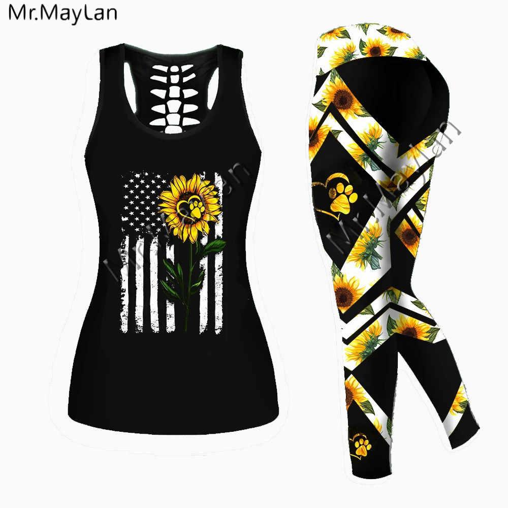 VINTAGE Chrysanthemum printed vest
