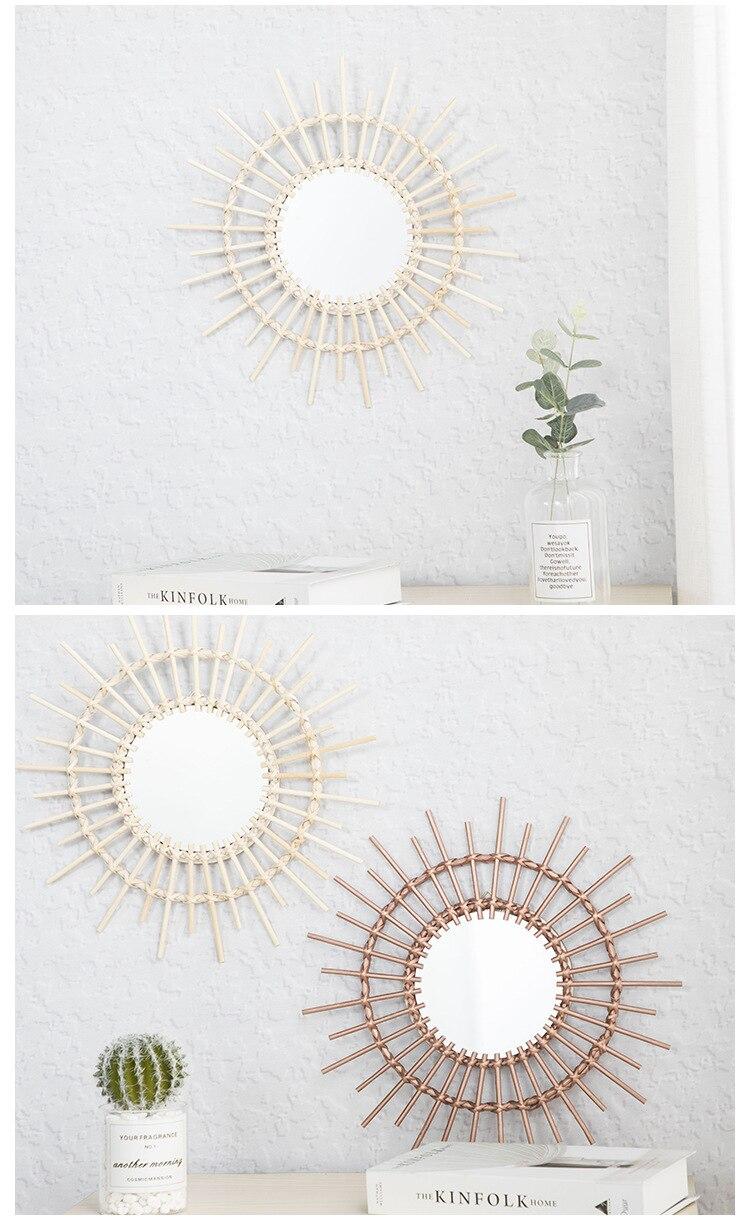 de estar pendurado parede decoração espelho