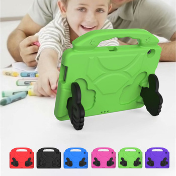 Kids Case for Huawei MediaPad T5 AGS2-W09/L09/L03/W19 10.1Tablet Shockproof EVA Thumb Stand Cover Mediapad 10