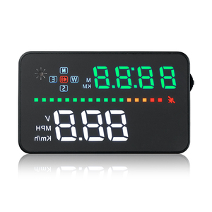 Image 5 - Universal A3 Auto GPS HUD Heads Up Display digital Car Accessories  Electronics  Digital Speedometer Water Temperature Alarm
