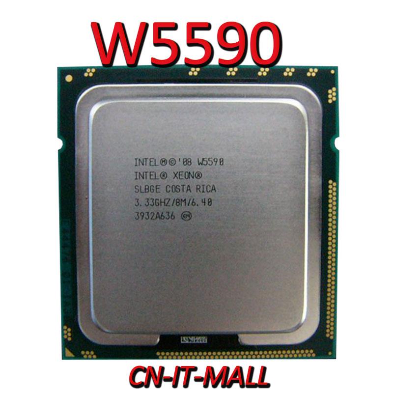 Pulled Xeon W5590 CPU 3.33GHz 8M 4 Core 8 Threads LGA1366 Processor