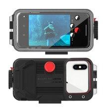 Dalış cep telefonu konut su geçirmez telefon kılıfı 360 ° tam koruma kapağı 60M/195ft için P30 / MATE 30/ P20 PRO/P30 PRO