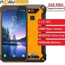 Original IP68 NOMU S50 PRO 4G Phablet 5.72'' Android 8.1 MTK6763 Octa-core 1.5GHz 4GB RAM 64GB ROM 1