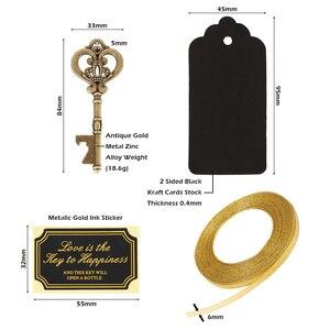 Image 5 - 36/50pcsกุญแจเปิดขวดหมวดหมู่สังกะสีเบียร์เปิดงานแต่งงานของขวัญเครื่องมือห้องครัวอุปกรณ์เสริมพิเศษparty Supplies