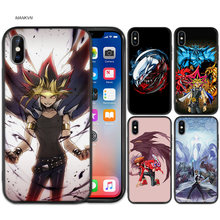 Yu GI OH Black Rubber Soft TPU Silicone Case Cover for iPhone X XS XR XS 11 11Pro Max 7 8 6 6S 5 5S 5C SE Plus Fundas Capa Case(China)